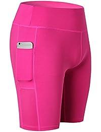 Amazon.es: pantalones de yoga - Rosa / Ropa deportiva ...