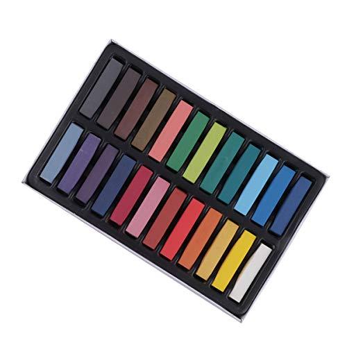 4 Farben Haar Kreide Waschbar Temporäre Haar Kreide Stifte Haarfärbemittel Kreide für Frauen Mädchen ()