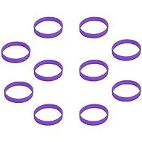 (Prix / 10 pièce) bracelets en silicone blanc, bracelets silicone