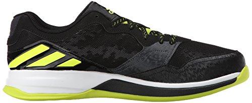 Adidas Performance Crazy Train Cross-formazione scarpe, nero / semi solare giallo / grigio scuro, 7 Black/Semi Solar Yellow/Dark Grey