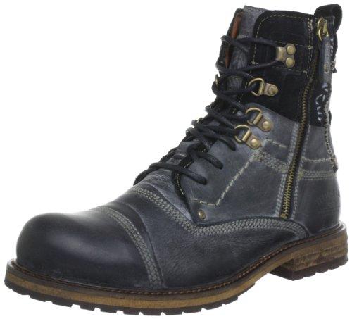 Yellow Cab SOLDIER M, Herren Biker Boots, Schwarz (Black), 45 EU