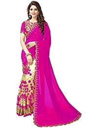 Vinayak Textiles Women's Bhagalpuri Silk Saree With Blouse Piece (Vtgtnct111,Multicolor,Free Size)