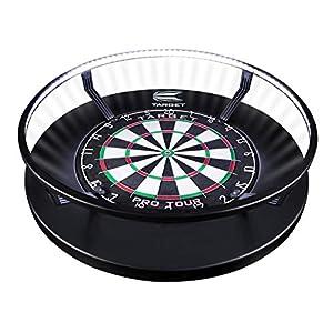 Target Darts Corona Vision Dartboard-Beleuchtungssystem Dartboardschränke & Kabinette, schwarz, Nicht zutreffend