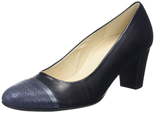 Gabor Shoes Damen Comfort Pumps, Blau (Navy/Ocean 85), 40 EU