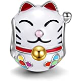 NinaQueen - Lucky Cat - 925 Sterling Silver Charms