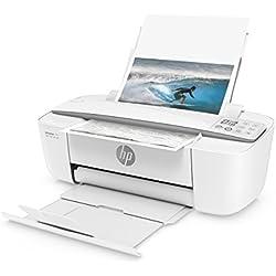 HP Deskjet 3720 Imprimante Multifonction jet d'encre couleur (8 ppm, 4800 x 1200 ppp, Wifi, Impression mobile, USB, Instant Ink)