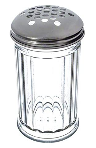 American Metalcraft SAN319 Plastic Cheese Shaker with X-Large Holes Lid,