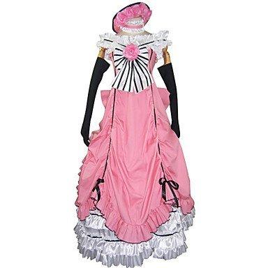 Sunkee Black Butler Cosplay Ciel Phantomhive Weibliche Version Partykleid, Größe L ( Alle Größe Sind Wie Beschreibung Gesagt, überprüfen Sie Bitte Die Größentabelle Vor Der Bestellung )