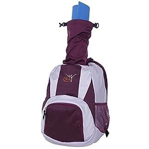 Yoga Rucksack von YEA!Sport – Völlig neuartiges INTEGRIERTES PACKSYSTEM für trockenen Mattentransport – Dein innovativer Begleiter für YOGA, PILATES und WORKOUT · Rückengerechtes Airstripes System – WASSERABWEISEND – VIEL STAURAUM – NASSWÄSCHEFACH für schmutzige Kleidung