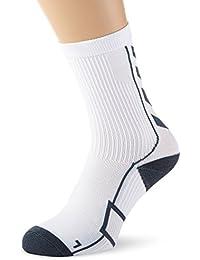 Hummel Sportsocken kurz Unisex mit Polsterung div. Farben - REFLECTOR TECH INDOOR SOCK LOW - Socken antibakteriell für Sport & Fitness - Strümpfe Mesh Belüftung