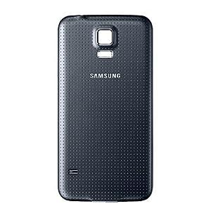Original Samsung Galaxy S5 ( SM-G900F ) ( GH98-32016B ) Akkudeckel - schwarz