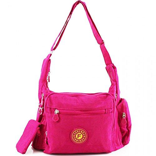 YourDezire , Damen Tote-Tasche rosa fuchsia
