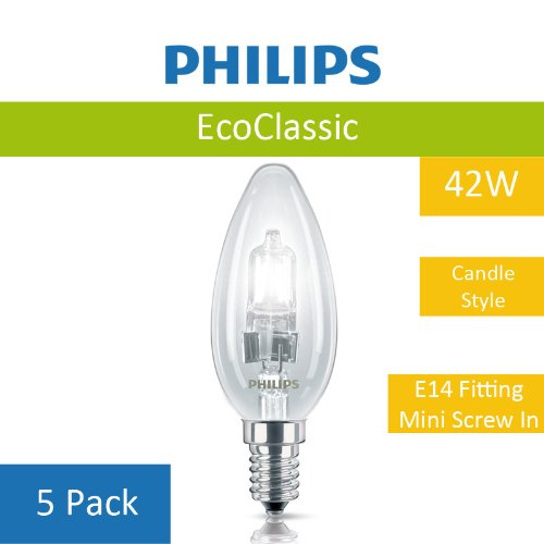 5-pack-of-42w-philips-b35-eco-classic-energy-saving-light-bulb-high-quality-halogen-light-e14-screw-