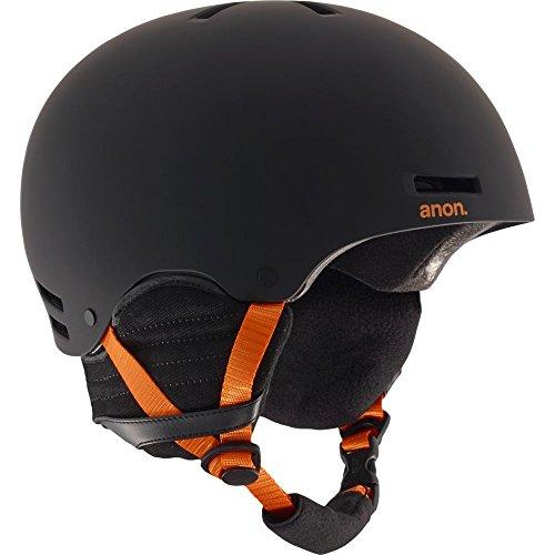 Anon Herren Raider Snowboardhelm, Black/Orange Eu, XL
