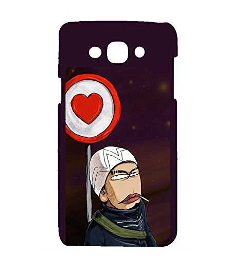 printtech Funny Stern Funky Guy Back Case Cover for Samsung Galaxy S3 Neo / Samsung Galaxy S3 Neo i9300i  available at amazon for Rs.344