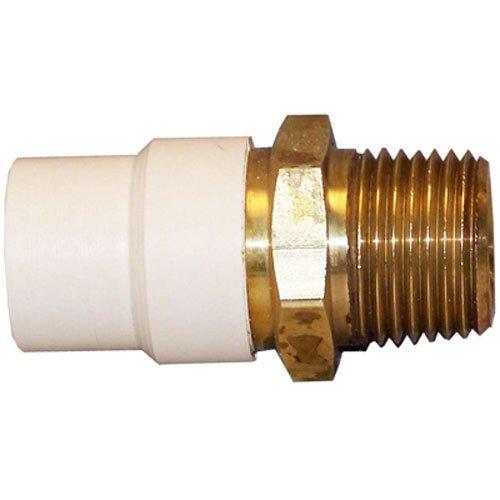 Cpvc-material (Genova Produkte 57607z 3/10,2cm CPVC Übergangs-Adapter)