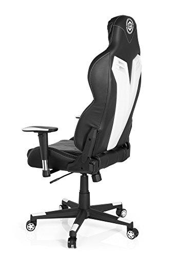 hjh OFFICE 734100silla de Gaming/Silla de oficina gamebreaker VR 12sintética negro