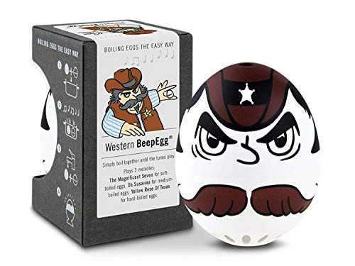 Brainstream A004689 BeepEgg Singing Floating Egg Timer, Western Theme
