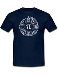 Pi Spirale Männer T-Shirt von Spreadshirt®