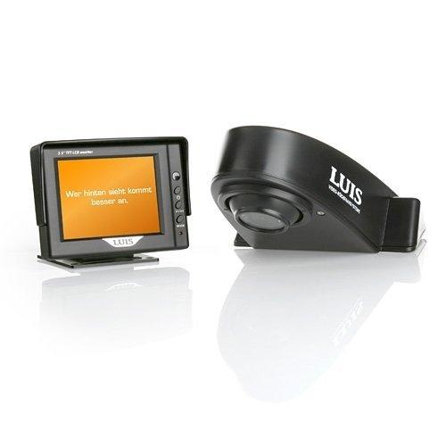 LUIS RV-8 Rückfahr-Kamera System für Kleintransporter - schwarz - Rangierhilfe inkl. Rückfahrkamera und Monitor 8 Kameras-system