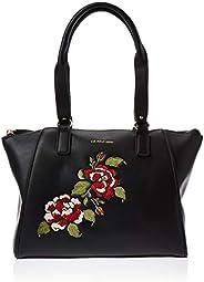 U.S. Polo Assn. Satchel Bag for Women- Black