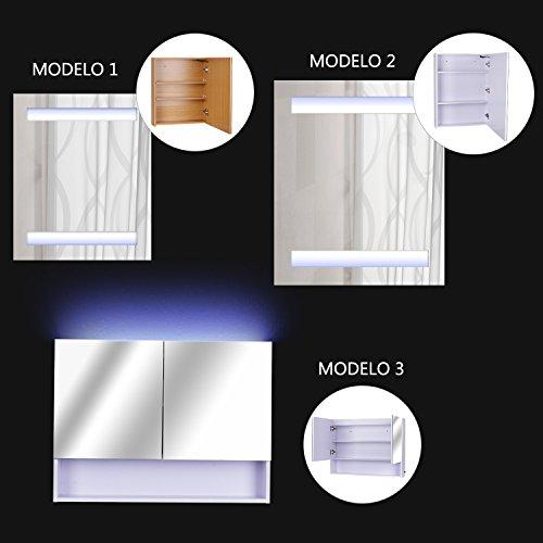 Espejo-de-Bao-con-Luz-LED-de-Pared-con-Puertas-Armario-bao-Botiquin-3-Modelos