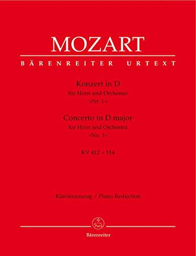 Concerto Cor - KV412 Ré Majeur + Allegro KV 514 (386b) - Cor/Piano