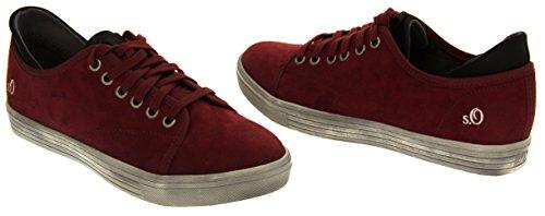 s.Oliver 23606 Damen Sneaker Bordeaux