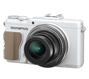 Olympus - Compact expert XZ-2 blanc, zoom 4x 1:1.8-2.5 ultra-lumineux, 12 Mpixels, autofocus FAST AF ultra rapide, blanc