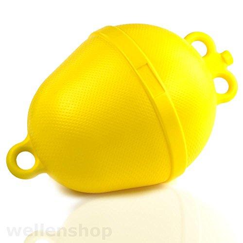 10 x Abgrenzungsboje Ø 250 mm Ankerboje Schwimmkörper Gelb