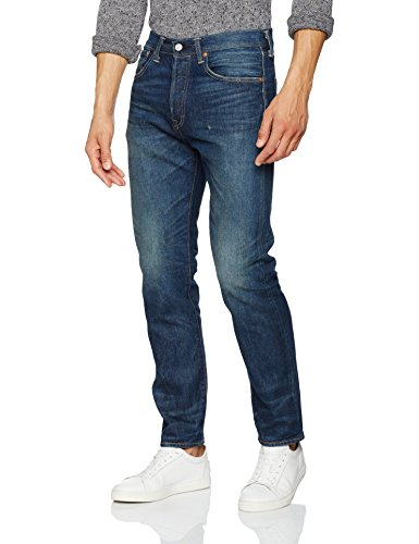levis-herren-fit-jeans-501-customized-tapered-blau-bugsy-67-w34-l32
