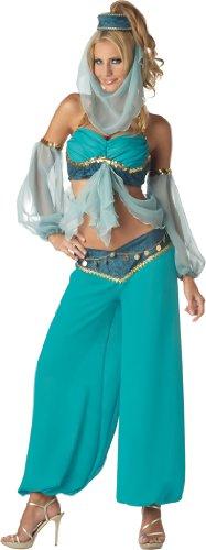 Für Jeannie Erwachsene Kostüm - Bezaubernde Jeannie Harems Kostüm - Large