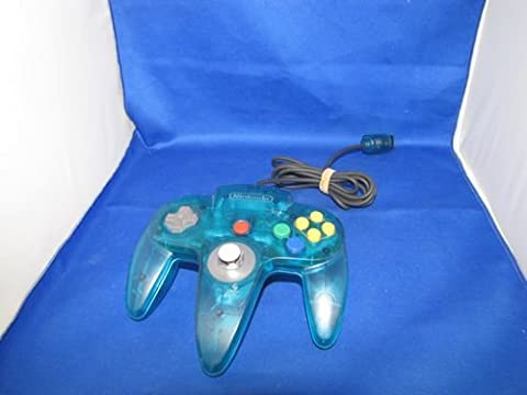 N64 manette clear blue