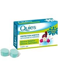QUIES Protection auditive standard spécial baignade 3 paires en silicone