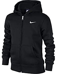 NIKE Jungen Hoodie YA76 Brushed Fleece Full Zip