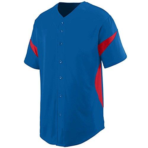 Augusta - Maglietta sportiva -  uomo Multicolore - Royal/Red