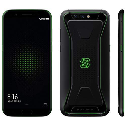 """Xiaomi Black Shark Gaming Mobile Phone 6GB 64GB Snapdragon 845 Octa Core Dual 20.0MP 18: 9 en Pantalla Completa 5.99"""" Negro"""
