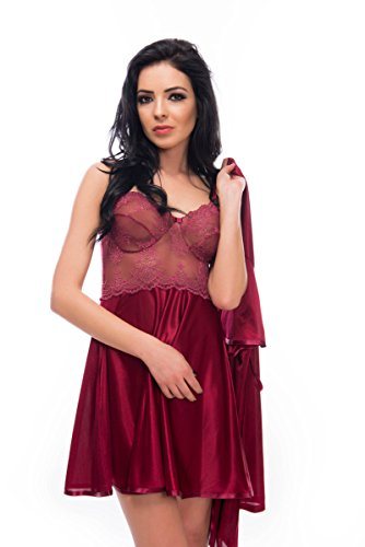 Dafi - Ensemble de pyjama - Femme Medium Rouge - Bordeaux