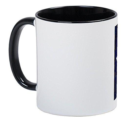 CafePress–Texas Retro State Flagge–Einzigartige Kaffee Tasse, Kaffeetasse, Tee, Tasse, White/Black Inside, S (Klassische Texas-flagge)