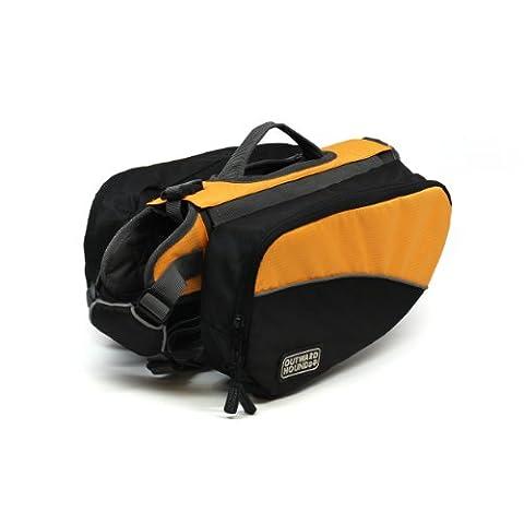 Outward Hound Kyjen 2500 Dog Backpack, Small, Orange
