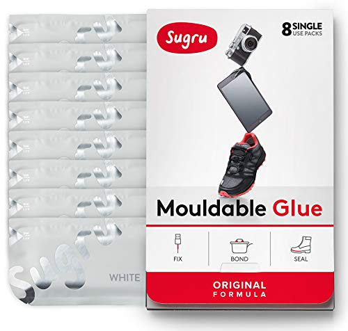 Sugru pasta adesiva modellabile - formula originale - bianco (8 confezioni monodose)