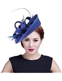 EOZY Mujer Tocado de Boda Sombrero Vintage