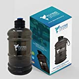 FLYING COLOURS Gallon Water Bottle/Jug BPA Free for Gym, Sports, Workout,Running,Training,Bodybuilding,Hiking