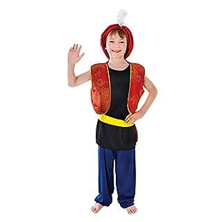 Bristol Novelty CC981 Arabian Boy Costume, Medium, Approx Age 5 - 7 Years, Arabian Boy (M)