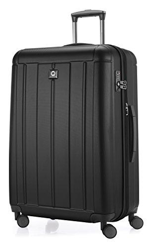 HAUPTSTADTKOFFER - Kotti - Hartschalen-Koffer Koffer Trolley Rollkoffer Reisekoffer, TSA, 76 cm, 120 Liter, Schwarz matt