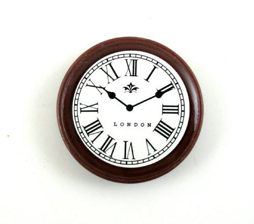 town-square-miniatures-pendule-1-12eme-miniature-rond-noyer-horloge-murale-