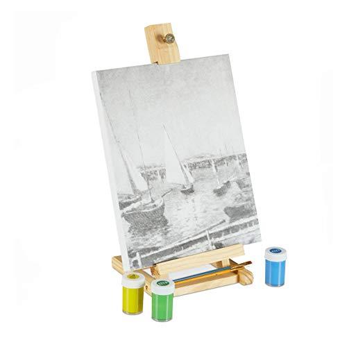 Imagen de Caballete Para Pintar Relaxdays por menos de 20 euros.