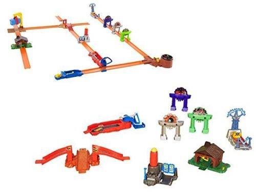 Mattel Hot Wheels Workshop Track System Stunt