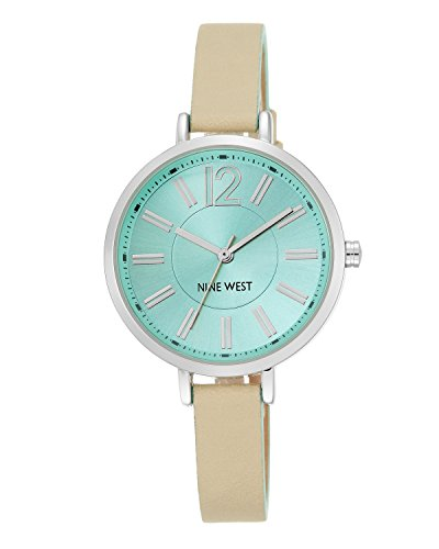 nine-west-giacca-da-donna-colore-verde-menta-orologio-da-donna-al-quarzo-con-display-analogico-e-cin