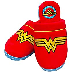 DC Comics Wonder Woman Retro Adult Mule Slippers 2 - 4